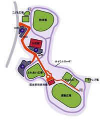 成田市フレンドリーパークコース案内図